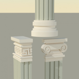 سر و پایه ستون